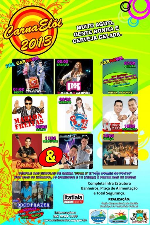 NOVO - Cartaz Carnaval 2013